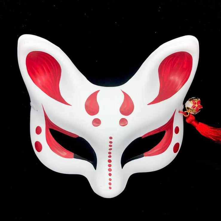 | Eye Level Kitsune Mask - Devil Horns | Foxtume