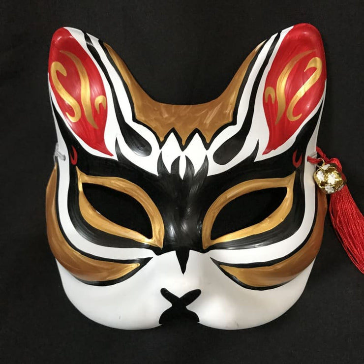 Kitsune Mask | Half Face - The Thief | Foxtume