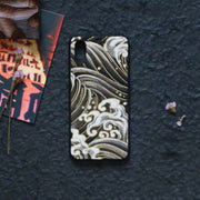 Black Great Wave Japanese Phone Case