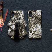 Black Great Wave Japanese Phone Cases