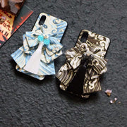 Blue and Black Great Wave Japanese Phone Case