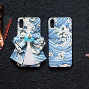 Blue Great Wave Japanese Phone Cases