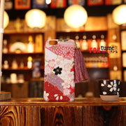 Phone Case | Handmade Sakuras Sea Japanese Fabric (Pre-Order) | Foxtume