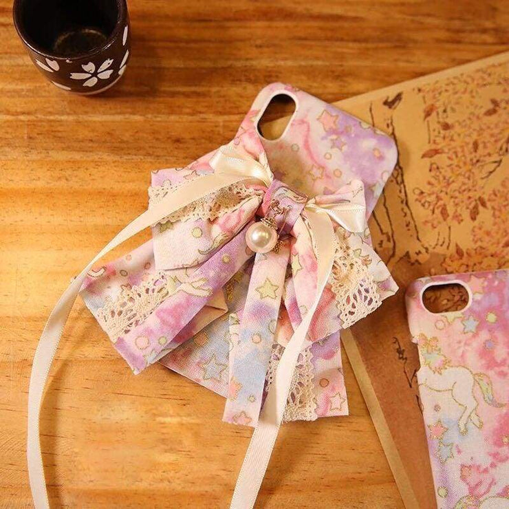 Phone Case | Handmade Unicon Fabric (Pre-Order) | Foxtume