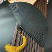 Japanese Folding Fan 【Maple Leaves】