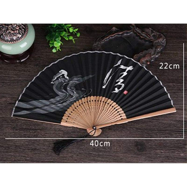 Hand Fan | Japanese Folding - Buddhist Style | Foxtume