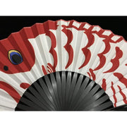 Hand Fan | Japanese Folding - Carp Streamer | Foxtume