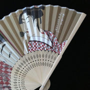 Hand Fan | Japanese Folding - Female Kabuki | Foxtume
