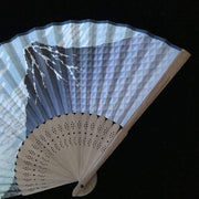 Hand Fan | Japanese Folding - Fuji Mountain | Foxtume