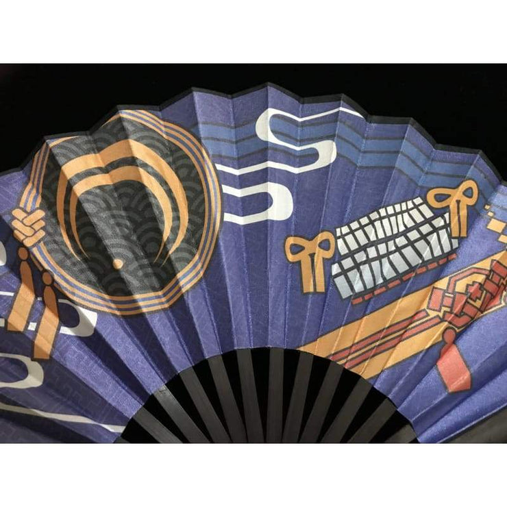 Hand Fan | Japanese Folding - Mikatsuki | Foxtume