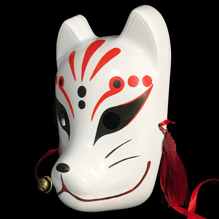 | Kitsune Mask - Bloodstain | Foxtume
