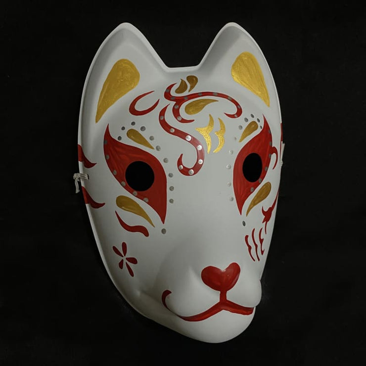 Kitsune Mask - Red Comet - Foxtume