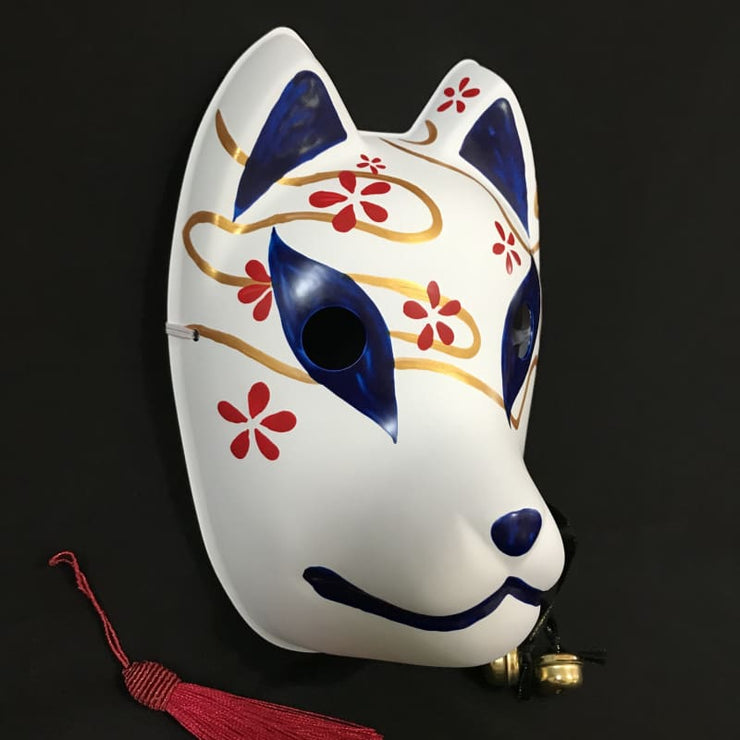 Kitsune Mask | Thousand Flower Fox | Foxtume