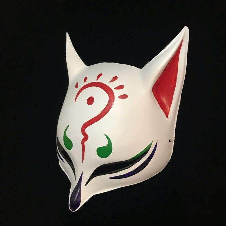 | Sharp Ears Kitsune Mask - Onmyoji | Foxtume