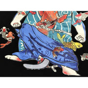 T-Shirt | Tattooed Samurai Cat | Foxtume
