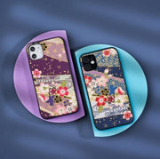 Two sakura pattern phone cases | Foxtume