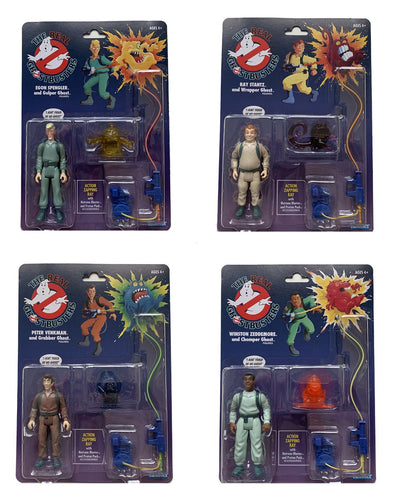 Real Ghostbusters from Kenner Toys 4 Pack