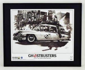 Ghostbusters Ecto-1 Lithograph Poster