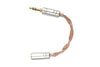 iBasso CA01 2.5mm Balanced to 3.5mm Single Ended Cable Adapter