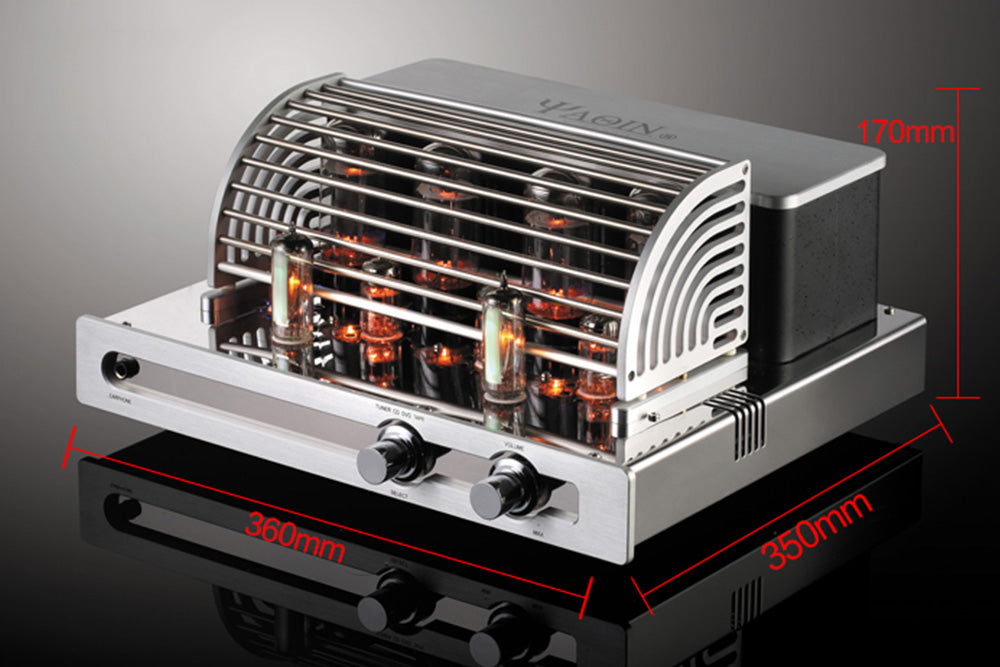 YAQIN MC-5881A 21WPC Vacuum Tube HiFi Intergrated Amplifier