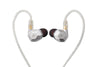 TENHZ K5 Hybrid Drive Unit Headset Metal HIFI Monitor InEar Earphone With MMCX