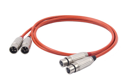 ZY Cable ZY-208 1M 2XLR to 2XLR ZY208 Balance signal Cable