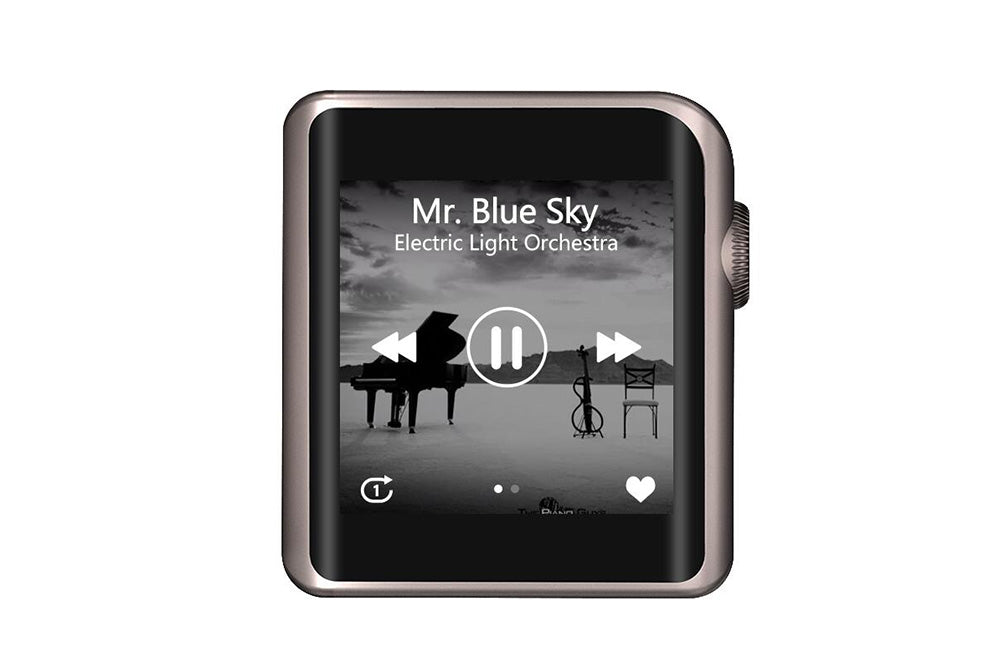 Shanling M0 Hi-Res tragbarer Musik-Player mit Bluetooth-Touchscreen