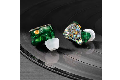 MOJI MONICA Alpha 2EST+1DD +2BA Monitor Earphone Hybrid IEMs with Detachable Cable Earbuds
