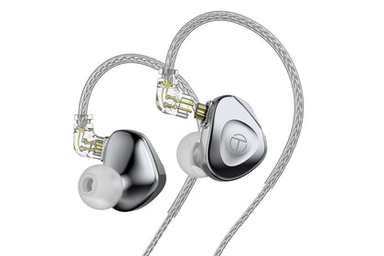 TRN BA15 15BA Drivers Flagship In-Ear Monitor Earphone With 16 Core Silver-Plated OCC Copper Cable