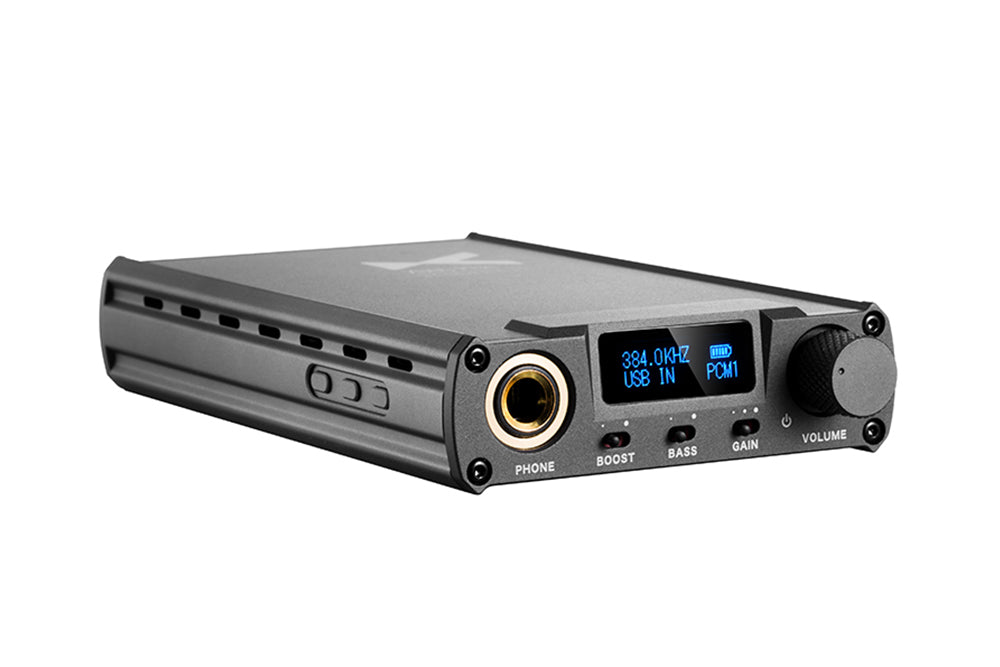 "XDUOO XD-05 Plus Portable ""Desktop"" Headphone Amplifier 32bit/384kHZ DSD256 DAC Headphone Amplifier"