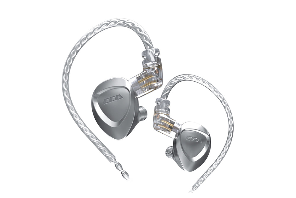 CCA CKX 1DD+6BA Ear-hook Wear 0.75mm 2 Pin Monitor HiFi In-ear Earphone