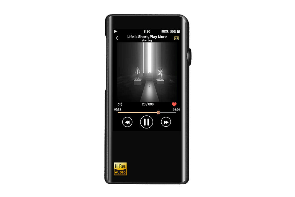 Shanling M5s-Player AK4493EQ*2 HIFI verlustfreie Musik Bluetooth Tragbarer MP3-Player