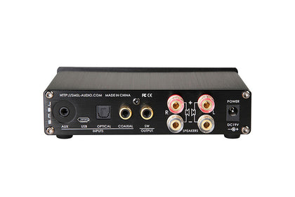 SMSL Q5 PRO 2x50W 192KHZ/24Bit Pure Digital Power Amplifier USB/COAXILAL/OPTIC