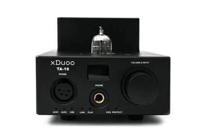 XDUOO TA-10 AK4490 XMOS USB DSD DAC 12AU7 Tube Headphone Amplifier