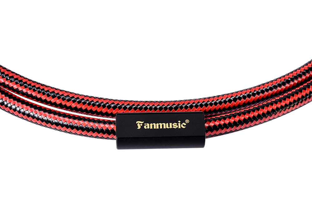 Fanmusic ZY Cable ZY-395 2XLR-F to 2RCA Signal Cable ZY395 Advanced Edition Cable