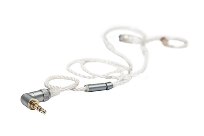 FiiO LC-2.5BS/3.5BS Short High-Purity Copper-Plated Silver MMCX Connector Headphone Cable