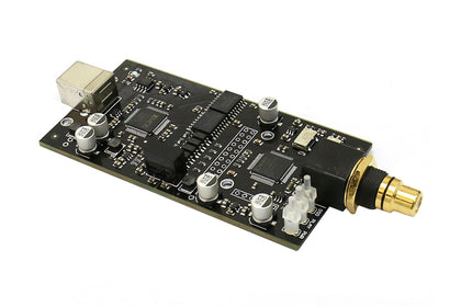 SINGXER F-1 XMOS USB-Digital-Interface-Modul mit XU208-Chip High-End U8-Upgrade-Version mit CNC-Aluminium-Schutzgehäuse