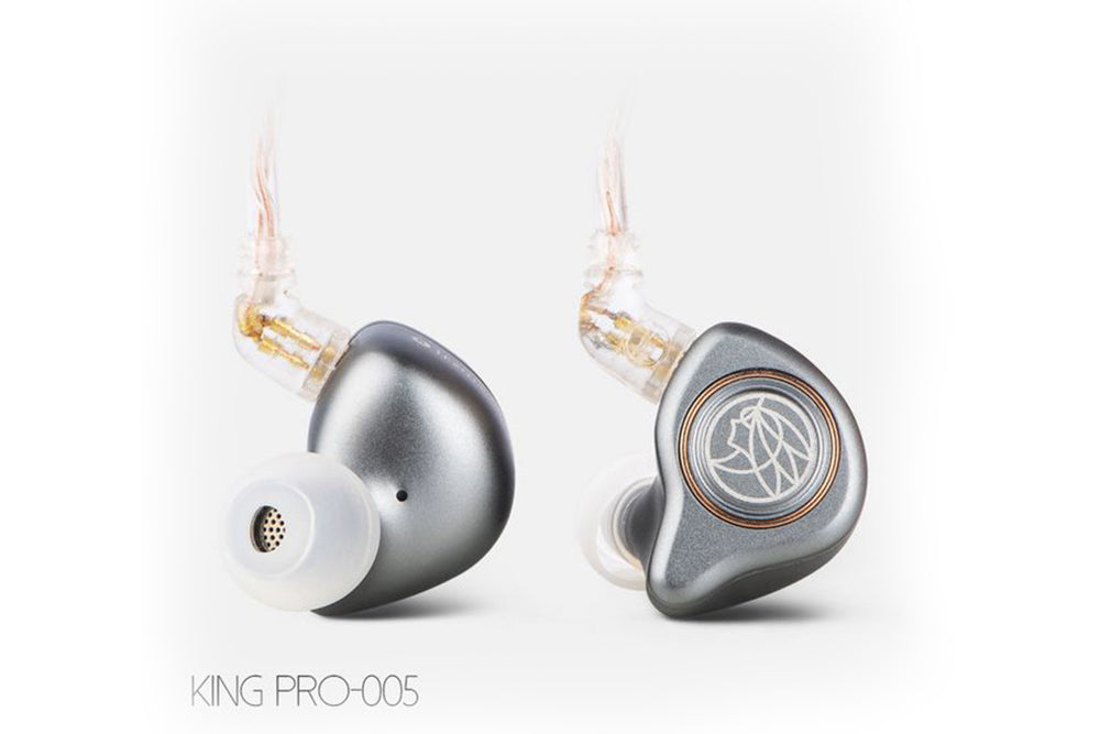 TFZ KING PRO Detachable Silver Plated Cable Hifi In-Ear Monitor Earphone