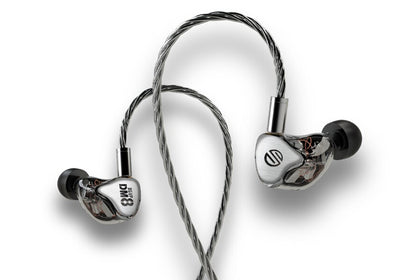 BGVP DM8 8BA High Performance Fever monitor balanced In-Ear Earphone
