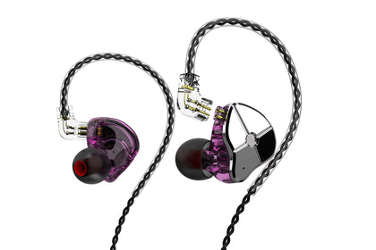 TRN ST1 1DD 1BA Hybrid In Ear Earphone HIFI DJ Monitor Running Sport Earphone
