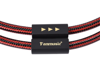 Fanmusic ZY Cable ZY-392 Double Lotus Head Signal Line ZY392 RCA Advanced Version Cable