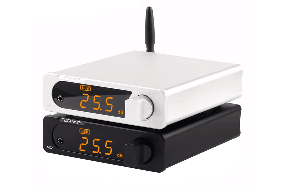 Topping MX3 DAC with built-in Bluetooth receiver headphone amp Digital amplifier