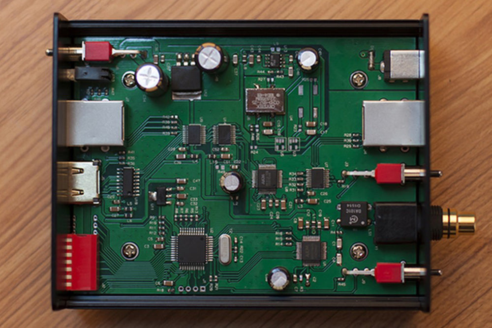 L.K.S Audio SRC100 DAC Up Frequency Box DSD256 PCM384 Source Output Sampling Rate Converter