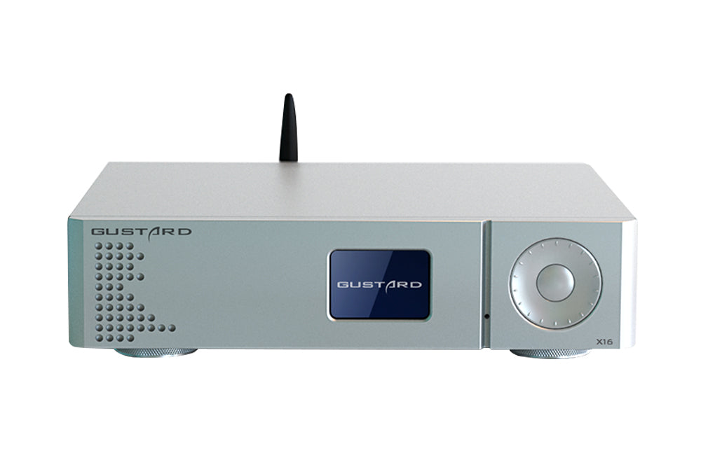 GUSTARD DAC-X16 Two ES9068AS Balanced Full Decoding XU216 Processor OLED Screen High-Performance Audio Decoder