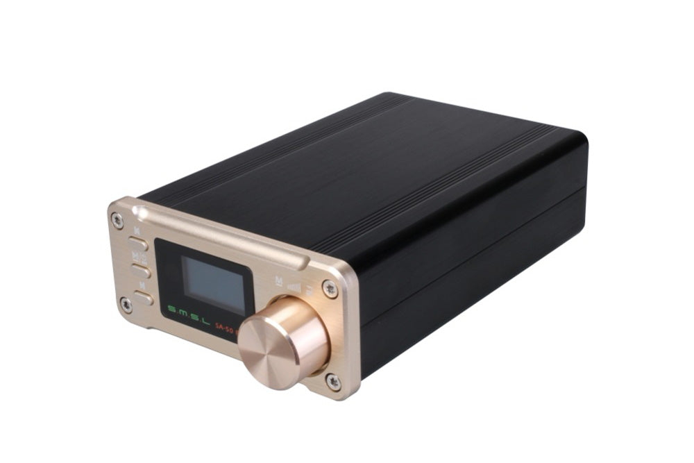 SMSL SA-50 PLUS SA50 AUX USB Mini 50W*2 Power Digital Amplifier