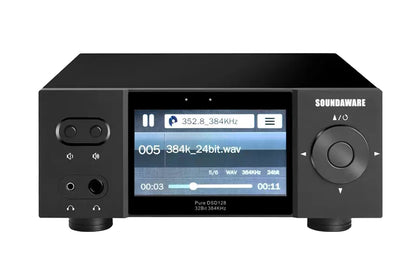 Soundaware A1X National Multifunctional Streaming Music Player Roon DLNA Airplay SD Card DSD256 PCM384