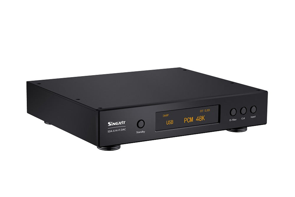 Singxer SDA-6 Primary Direct Solution CCHD-957 Femtosecond Clock of USB NOS Model DSD512 AK4499 DAC Decoder