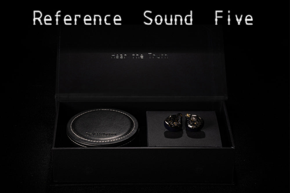 Softears RSV RS5 5BA IEM Reference Sound Series In-Ear Monitor Earphone
