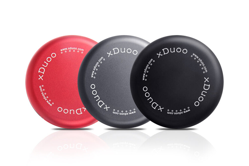 XDUOO High-grade Aluminum Alloy Can Headphones Receive Box Aluminum UE Compressive Receive Box