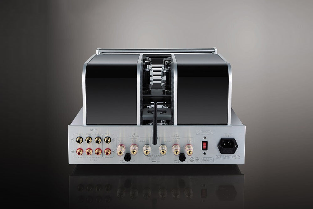 YAQIN MS-90B CSR8675 Chip Bluetooth 5.0 Support APT-X Decoding  HiFi High-Fidelity Tube Amplifier